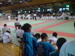 市総体柔道競技の部男子個人戦
